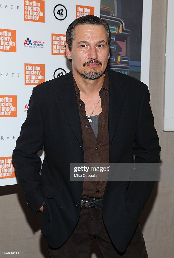 Actor Nick Damici attends the 'Stake Land' premiere at The Film Society of Lincoln Center on October 27, 2010 in New York City.