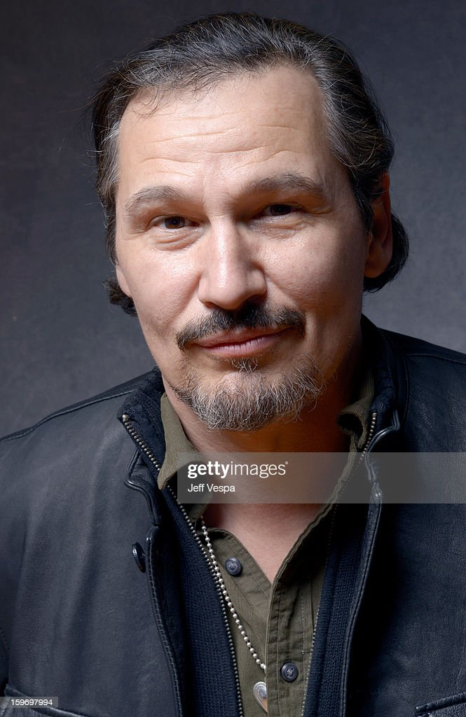 Actor Nick Damici poses for a portrait during the 2013 Sundance Film Festival at the WireImage Portrait Studio at Village At The Lift on January 18, 2013 in Park City, Utah.