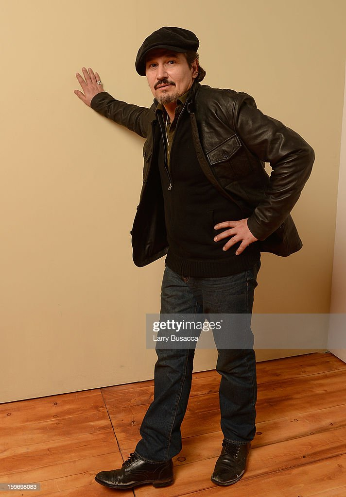 Actor Nick Damici poses for a portrait during the 2013 Sundance Film Festival at the Getty Images Portrait Studio at Village at the Lift on January 18, 2013 in Park City, Utah.