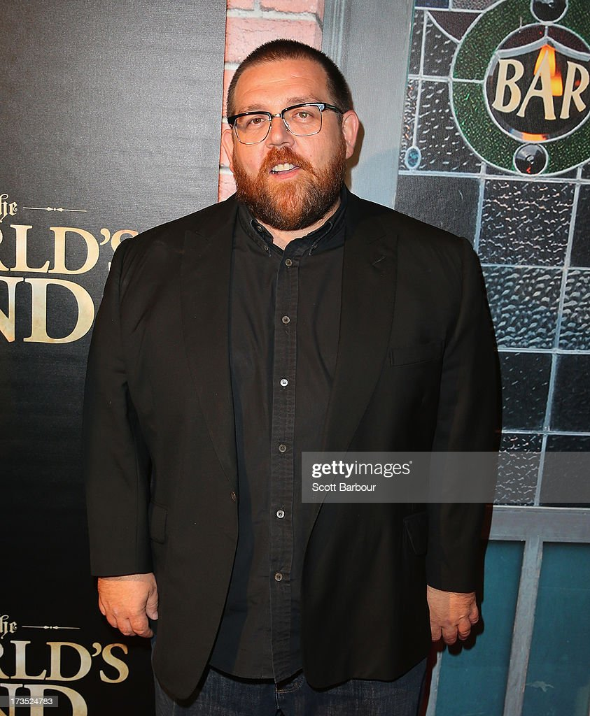 Actor <a gi-track='captionPersonalityLinkClicked' href=/galleries/search?phrase=Nick+Frost+-+Actor&family=editorial&specificpeople=240351 ng-click='$event.stopPropagation()'>Nick Frost</a> arrives for 'The World's End' Australian premiere at Hoyts Melbourne Central on July 16, 2013 in Melbourne, Australia.