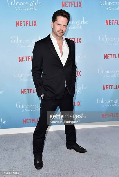 Actor Nick Holmes attends the premiere of Netflix's 'Gilmore Girls A Year In The Life' at the Regency Bruin Theatre on November 18 2016 in Los...