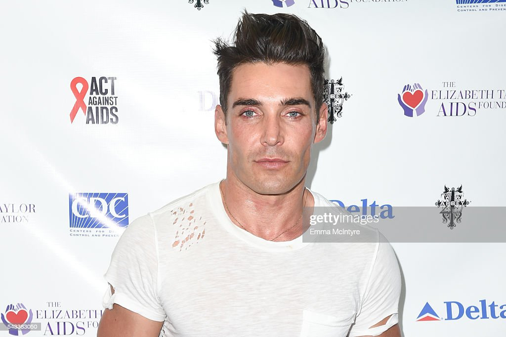 Actor Nick Hounslow attends 'The Elizabeth Taylor AIDS Foundation Hosts HIV Testing' at The Abbey on June 27, 2016 in West Hollywood, California.