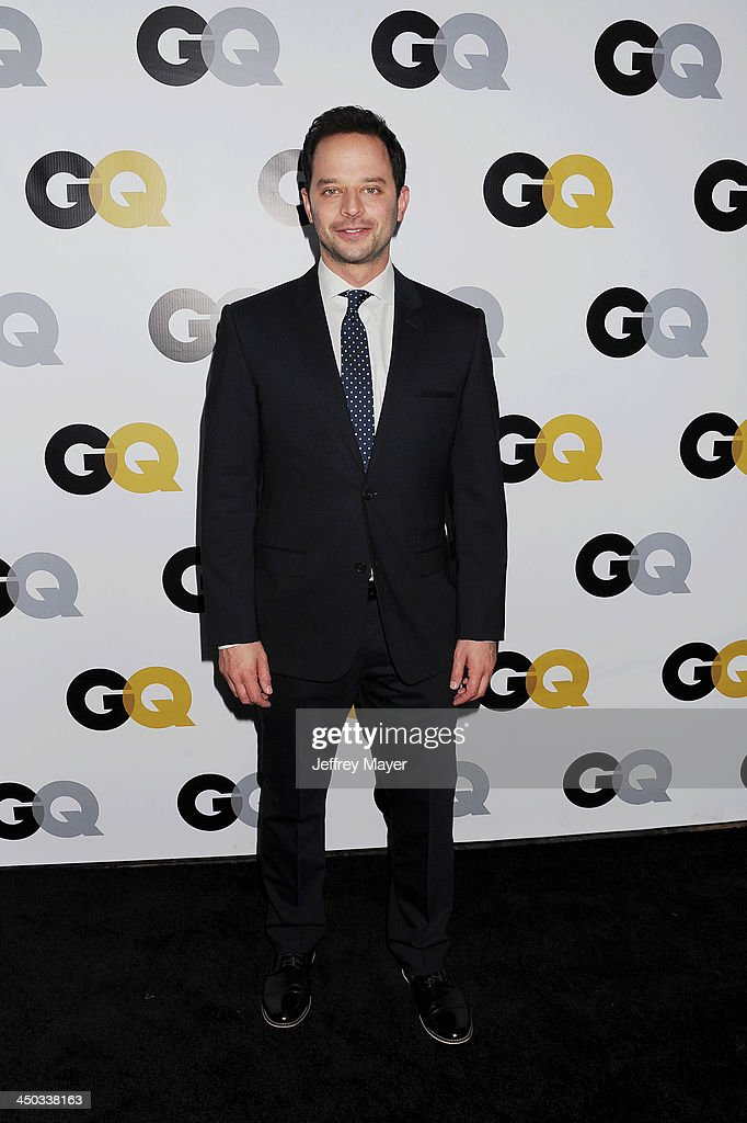 Actor <a gi-track='captionPersonalityLinkClicked' href=/galleries/search?phrase=Nick+Kroll&family=editorial&specificpeople=4432339 ng-click='$event.stopPropagation()'>Nick Kroll</a> arrives at the 2013 GQ Men Of The Year Party at The Ebell of Los Angeles on November 12, 2013 in Los Angeles, California.