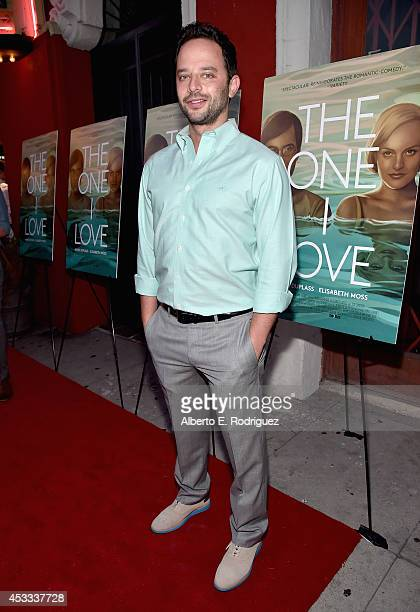 Actor Nick Kroll arrives to the premiere of RADIUSTWC's 'The One I Love' at the Vista Theatre on August 7 2014 in Los Angeles California