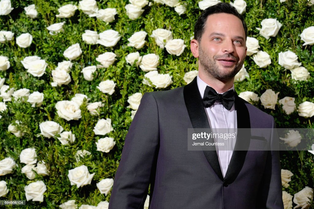 Actor Nick Kroll attends the 2017 Tony Awards at Radio City Music Hall on June 11, 2017 in New York City.