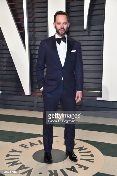Actor Nick Kroll attends the 2017 Vanity Fair Oscar Party hosted by Graydon Carter at Wallis Annenberg Center for the Performing Arts on February 26...