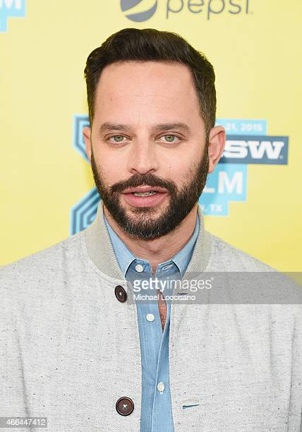 Actor Nick Kroll attends the 'Adult Beginners' premiere during the 2015 SXSW Music Film Interactive Festival at Topfer Theatre at ZACH on March 15...