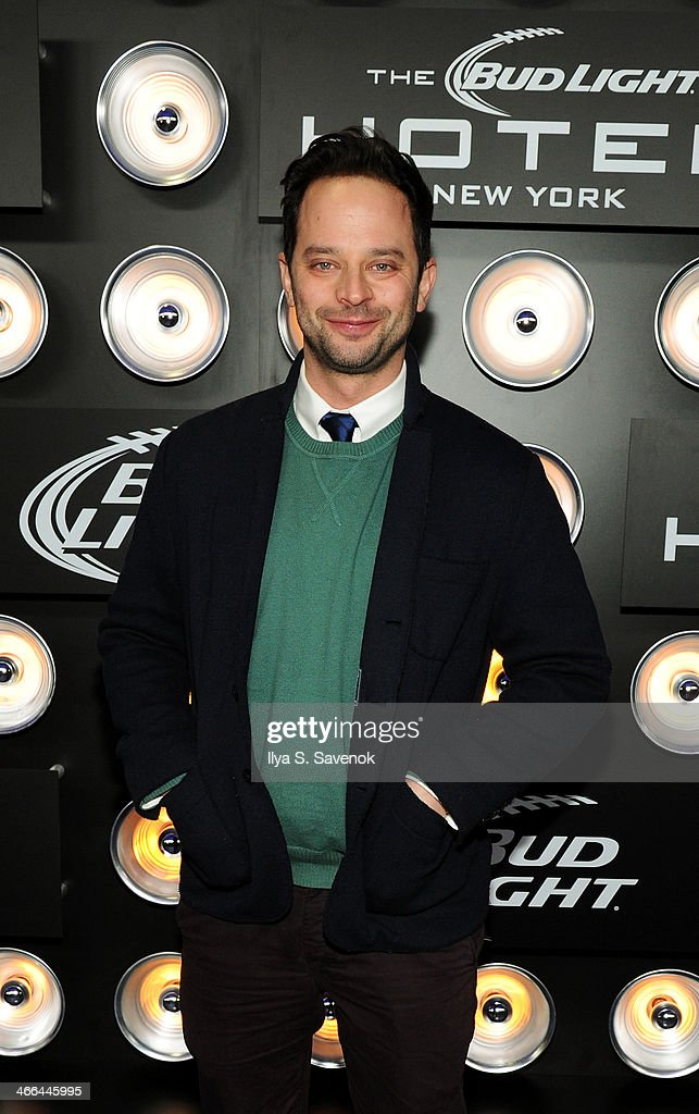 Actor <a gi-track='captionPersonalityLinkClicked' href=/galleries/search?phrase=Nick+Kroll&family=editorial&specificpeople=4432339 ng-click='$event.stopPropagation()'>Nick Kroll</a> attends the Bud Light Hotel on February 1, 2014 in New York City.