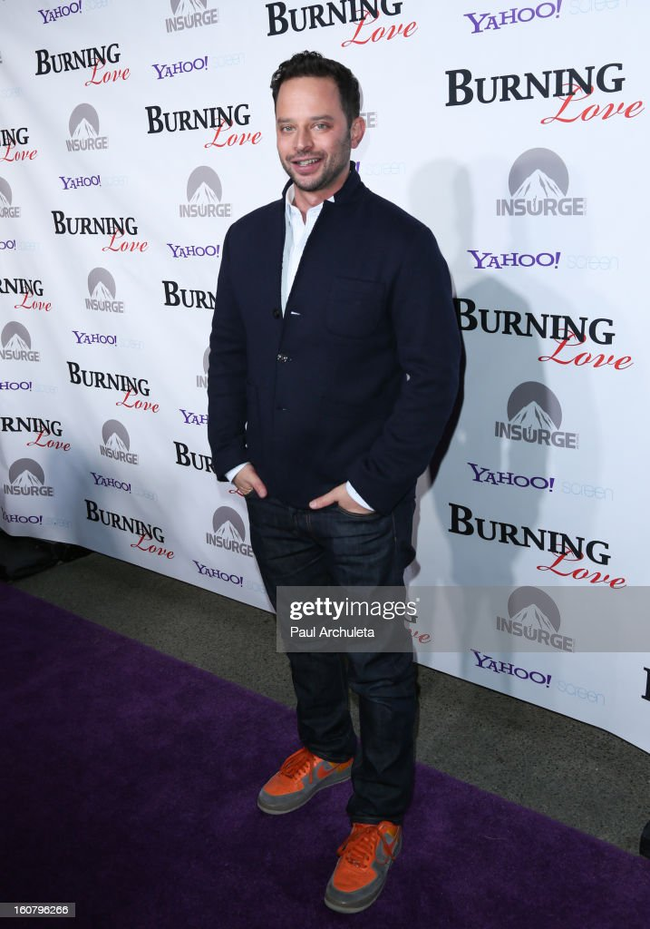 Actor Nick Kroll attends the 'Burning Love' Season 2 Los Angeles Premiere at Paramount Theater on the Paramount Studios lot on February 5, 2013 in Hollywood, California.