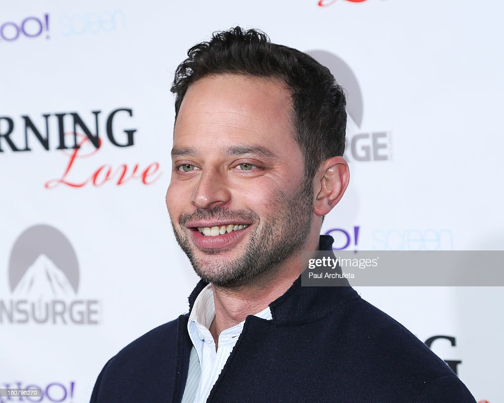 Actor <a gi-track='captionPersonalityLinkClicked' href=/galleries/search?phrase=Nick+Kroll&family=editorial&specificpeople=4432339 ng-click='$event.stopPropagation()'>Nick Kroll</a> attends the 'Burning Love' Season 2 Los Angeles Premiere at Paramount Theater on the Paramount Studios lot on February 5, 2013 in Hollywood, California.
