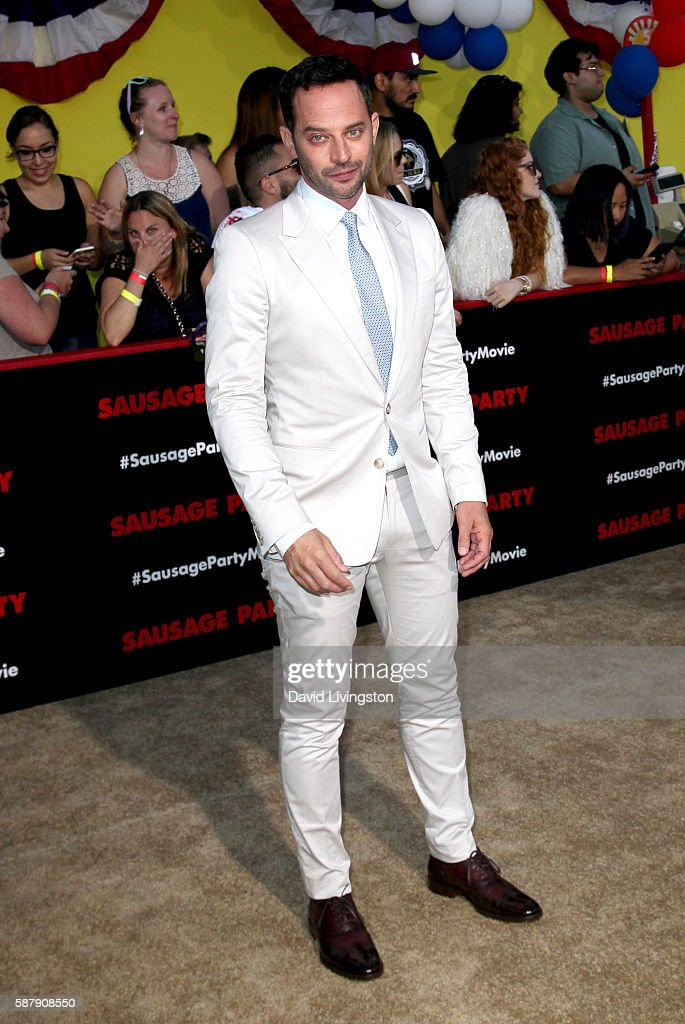Actor Nick Kroll attends the premiere of Sony's 'Sausage Party' at Regency Village Theatre on August 9 2016 in Westwood California