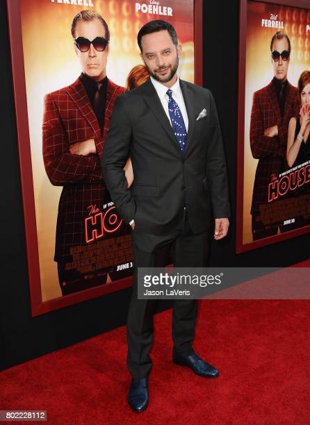 Actor Nick Kroll attends the premiere of 'The House' at TCL Chinese Theatre on June 26 2017 in Hollywood California
