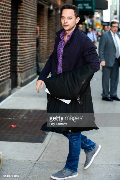 Actor Nick Kroll enters the 'AOL Build' taping at the AOL Studios on September 27 2017 in New York City