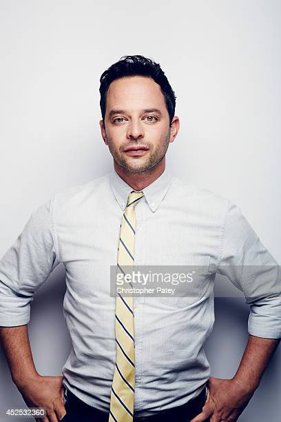 Actor Nick Kroll poses for a portrait session at the summer Television Critics Association for the FX network on July 21 2014 in Beverly Hills...