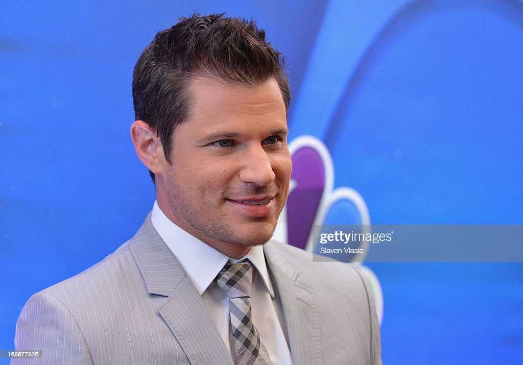 Actor Nick Lachey attends 2013 NBC Upfront Presentation Red Carpet Event at Radio City Music Hall on May 13, 2013 in New York City.