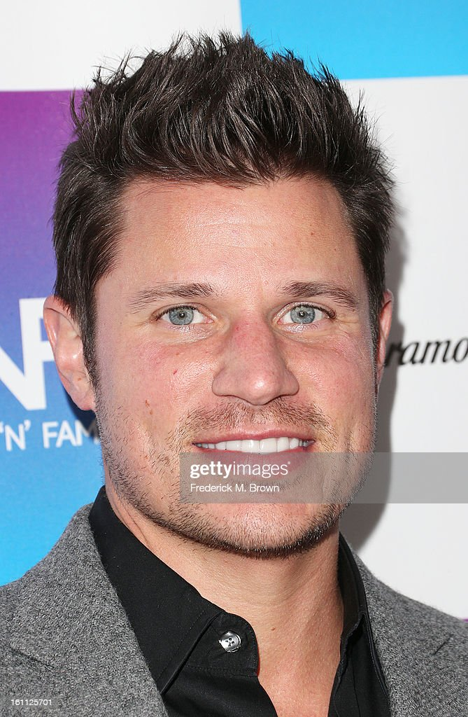 Actor <a gi-track='captionPersonalityLinkClicked' href=/galleries/search?phrase=Nick+Lachey&family=editorial&specificpeople=201832 ng-click='$event.stopPropagation()'>Nick Lachey</a> attends the 16th Annual 'Friends 'N' Family' Pre-GRAMMY Event at Paramount Studios on February 8, 2013 in Hollywood, California.
