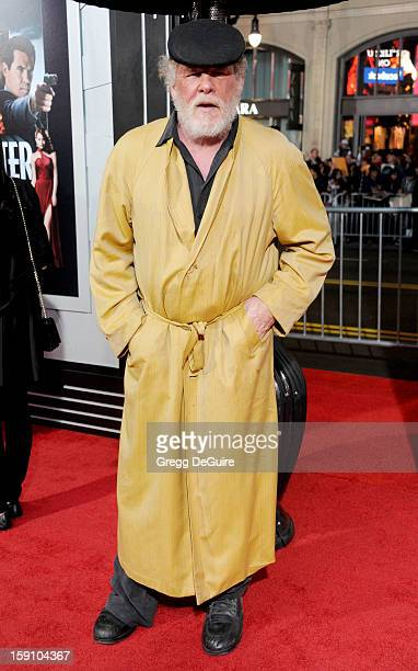 Actor Nick Nolte arrives at the Los Angeles premiere of 'Gangster Squad' at Grauman's Chinese Theatre on January 7 2013 in Hollywood California