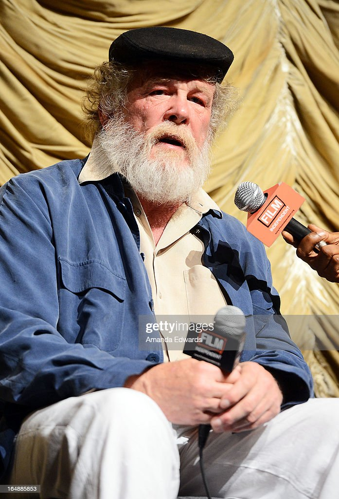 Actor Nick Nolte attends a Film Independent at LACMA special screening of 'The Company You Keep' at Bing Theatre at LACMA on March 28 2013 in Los...