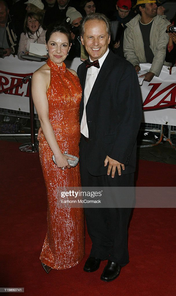 Actor Nick Park and guest attend the National Movie Awards at the Royal Festival Hall on September 28 2007 in London England