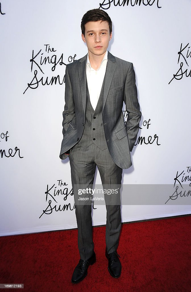 Actor Nick Robinson attends the premiere of 'The Kings Of Summer' at ArcLight Cinemas on May 28, 2013 in Hollywood, California.
