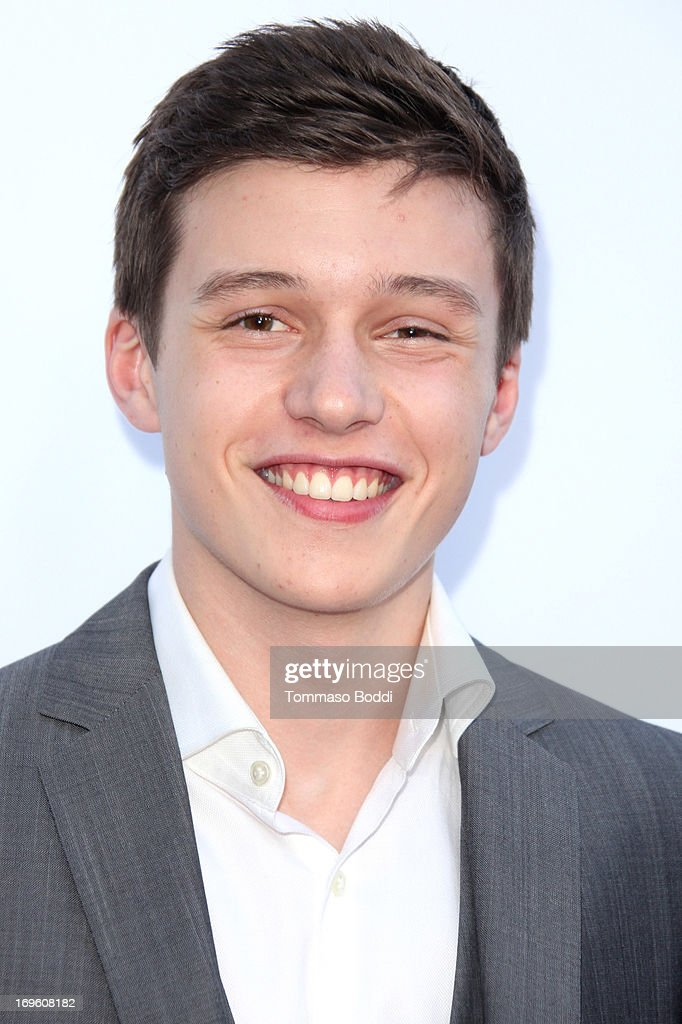 Actor Nick Robinson attends the 'The Kings Of Summer' Los Angeles premiere held at the ArcLight Hollywood on May 28, 2013 in Hollywood, California.