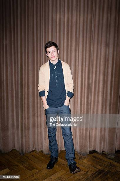 Actor Nick Robinson is photographed for Nylon Magazine on March 28 2015 in Los Angeles California PUBLISHED IMAGE