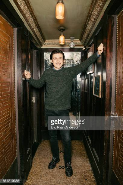 Actor Nick Robinson is photographed for The Hollywood Reporter on October 22 2016 in New York City
