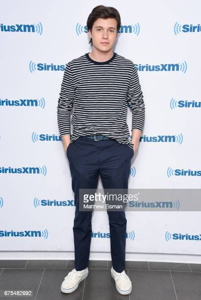 Actor Nick Robinson visits SiriusXM Studios on May 1 2017 in New York City