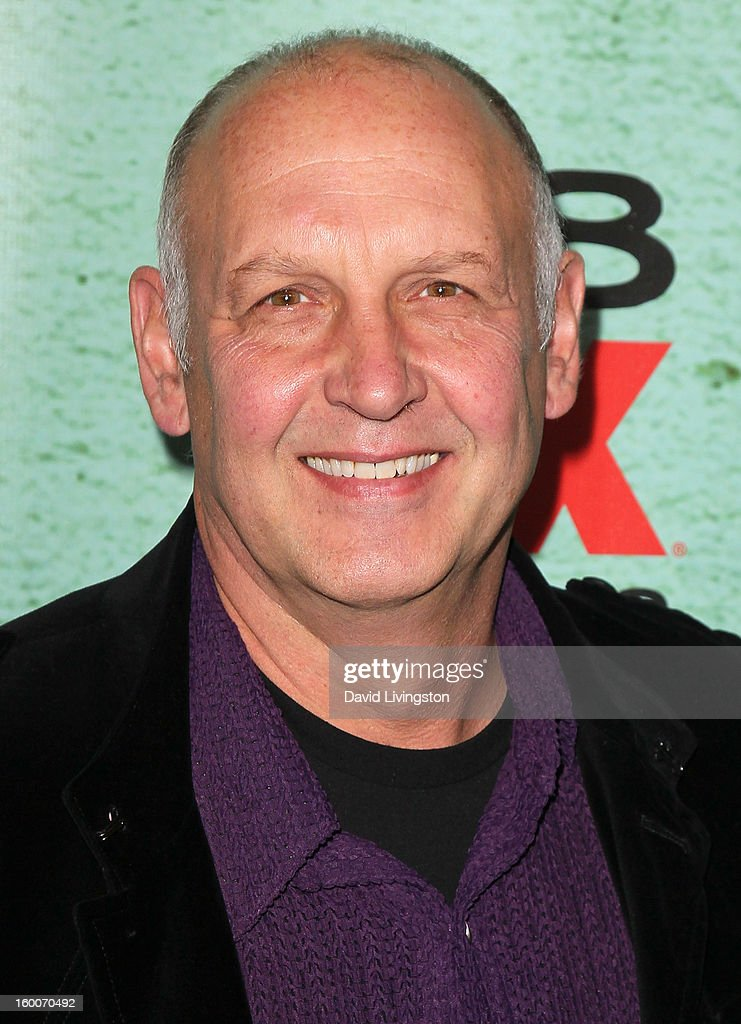 Actor Nick Searcy attends the premiere of FX's 'Justified' Season 4 at the Paramount Theater on the Paramount Studios lot on January 5, 2013 in Hollywood, California.