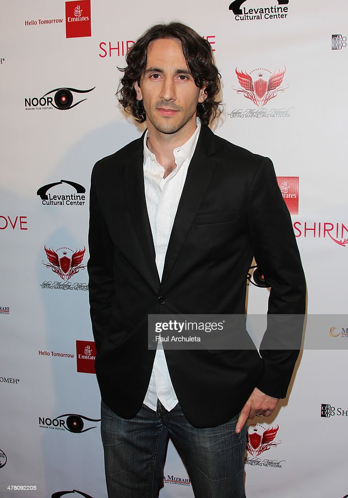 Actor Nick Soper attends the premiere of 'Shirin In Love' at Avalon on March 11, 2014 in Hollywood, California.