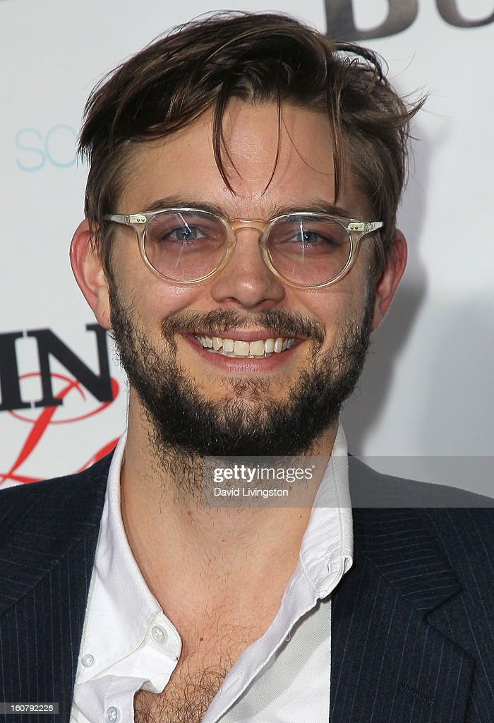 Actor Nick Thune attends the premiere of 'Burning Love' Season 2 at the Paramount Theater on the Paramount Studios lot on February 5, 2013 in Hollywood, California.