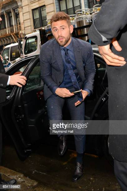 Actor Nick Viall is seen walking in Soho on February 7 2017 in New York City