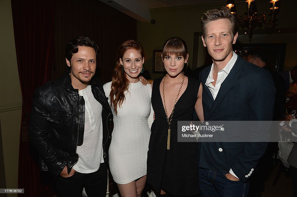 Actor <a gi-track='captionPersonalityLinkClicked' href=/galleries/search?phrase=Nick+Wechsler+-+Actor&family=editorial&specificpeople=2210698 ng-click='$event.stopPropagation()'>Nick Wechsler</a>, actress Jessica Blair, actress <a gi-track='captionPersonalityLinkClicked' href=/galleries/search?phrase=Christa+B.+Allen+-+Actress+-+Born+1991&family=editorial&specificpeople=4409701 ng-click='$event.stopPropagation()'>Christa B. Allen</a> and actor <a gi-track='captionPersonalityLinkClicked' href=/galleries/search?phrase=Gabriel+Mann&family=editorial&specificpeople=228956 ng-click='$event.stopPropagation()'>Gabriel Mann</a> attend the NYLON September Issue Party hosted by NYLON, ASOS and Emily VanCamp at The Redbury Hotel on August 24, 2013 in Hollywood, California.