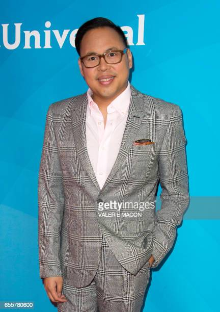 Actor Nico Santos of 'Superstore' arrives at the NBC Universal Summer Press Day at the Beverly Hilton on March 20 Beverly Hills California / AFP...