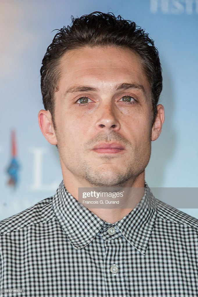 Actor Nico Stone attends the 'Booster' Photocall during the 38th Deauville American Film Festival on September 4, 2012 in Deauville, France.