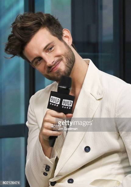 Actor Nico Tortorella attends Build to discuss 'Younger' at Build Studio on June 27 2017 in New York City