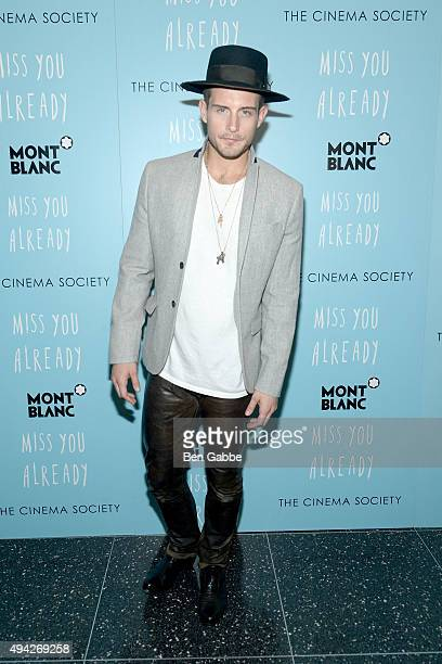 Actor Nico Tortorella attends Montblanc The Cinema Society screening of Roadside Attractions Lionsgate's 'Miss You Already' at Museum of Modern Art...