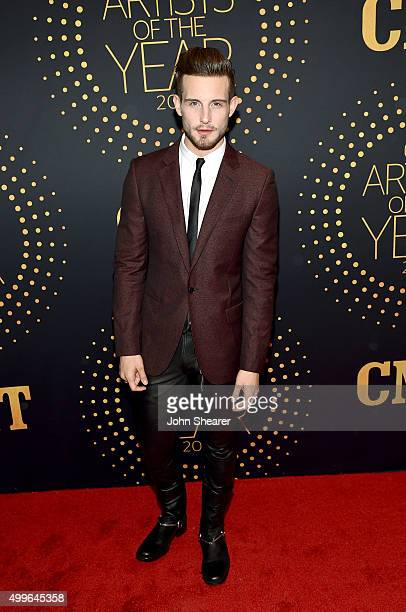 Actor Nico Tortorella attends the 2015 'CMT Artists of the Year' at Schermerhorn Symphony Center on December 2 2015 in Nashville Tennessee