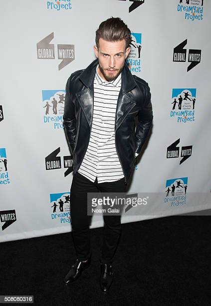 Actor Nico Tortorella attends the Bronxwrites' Poetry Slam finals at Joe's Pub on February 2 2016 in New York City