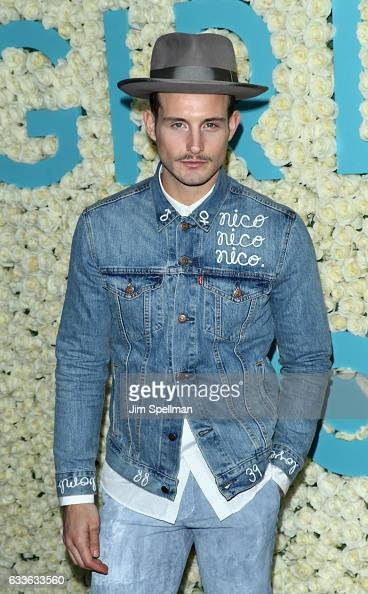 Actor Nico Tortorella attends the the New York premiere of the sixth and final season of 'Girls' at Alice Tully Hall Lincoln Center on February 2...