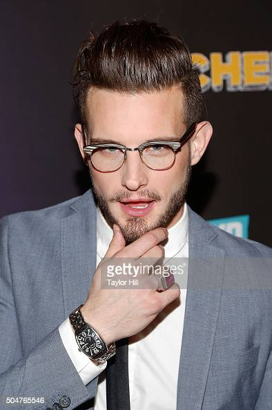 Actor Nico Tortorella attends the 'Younger' season 2 and 'Teachers' series premiere at The NoMad Hotel on January 12 2016 in New York City