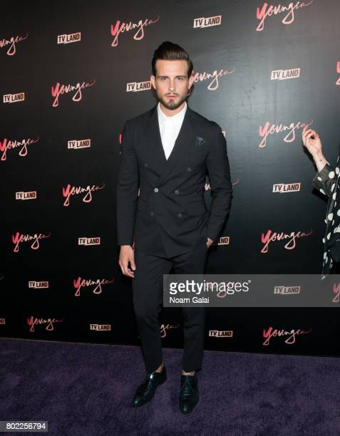 Actor Nico Tortorella attends the 'Younger' season four premiere party on June 27 2017 in New York City