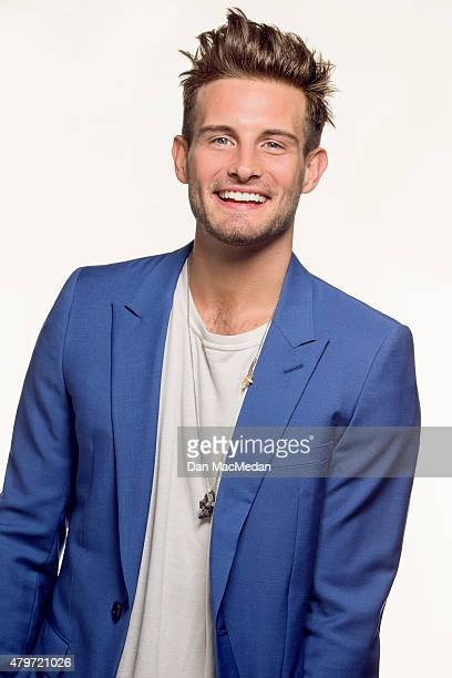 Actor Nico Tortorella is photographed for The Wrap on June 18 2015 in Los Angeles California Published Image