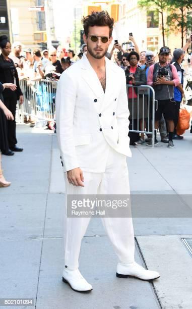 Actor Nico Tortorella is seen walking in Soho on June 27 2017 in New York City