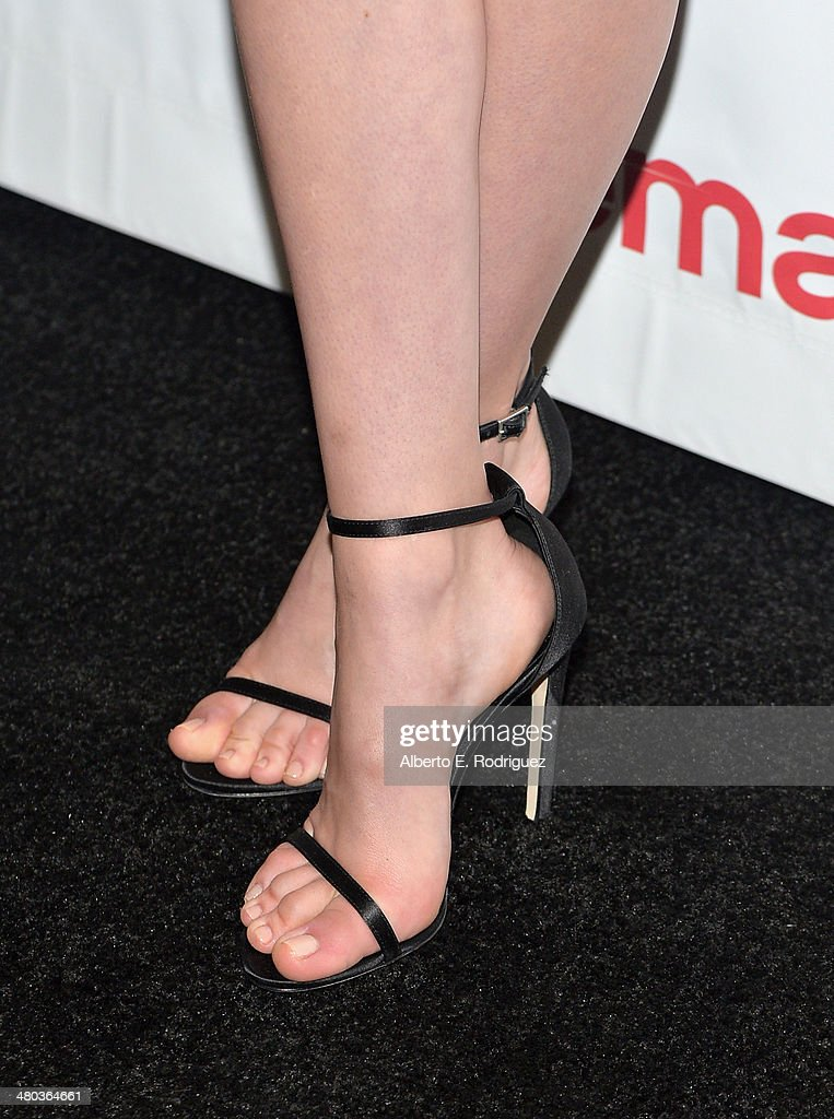 Actor Nicola Peltz (fashion detail) attends CinemaCon 2014 Off and Running: Opening Night Studio Presentation from Paramount Pictures at Caesars Palace during CinemaCon 2014 on March 24, 2014 in Las Vegas, Nevada.