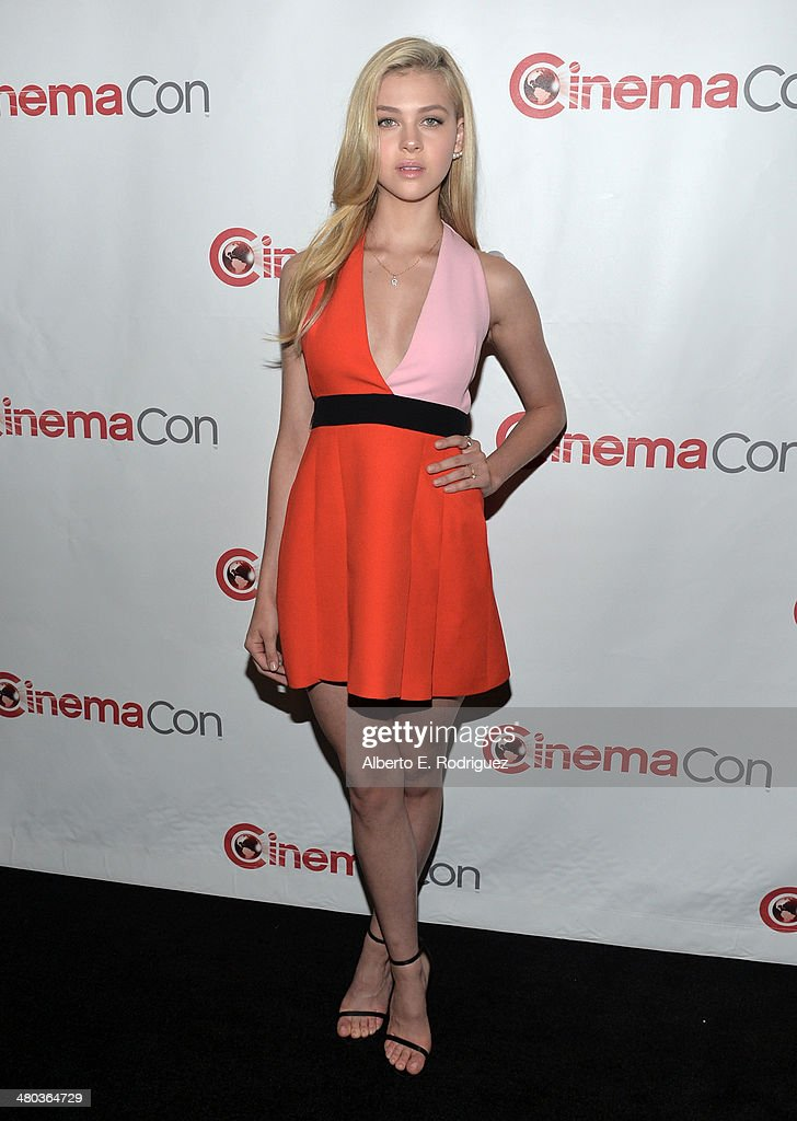 Actor <a gi-track='captionPersonalityLinkClicked' href=/galleries/search?phrase=Nicola+Peltz&family=editorial&specificpeople=5306904 ng-click='$event.stopPropagation()'>Nicola Peltz</a> attends CinemaCon 2014 Off and Running: Opening Night Studio Presentation from Paramount Pictures at Caesars Palace during CinemaCon 2014 on March 24, 2014 in Las Vegas, Nevada.