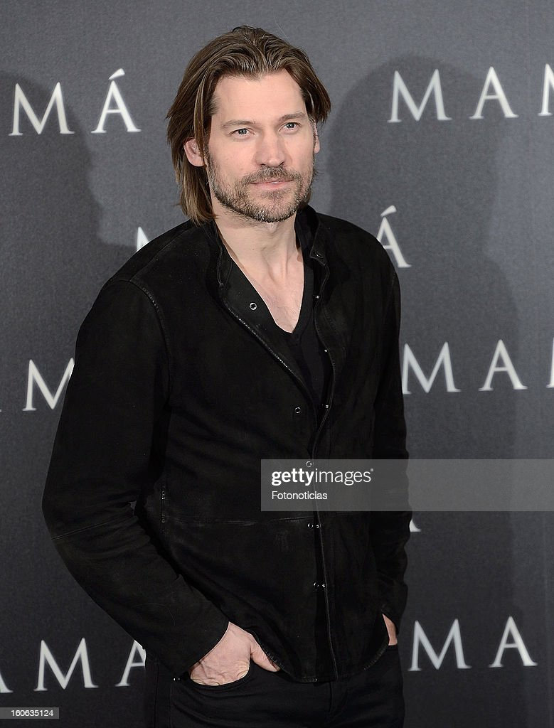 Actor Nicolaj Coster-Waldau attends a photocall for 'Mama' at the Villamagna Hotel on February 4, 2013 in Madrid, Spain.