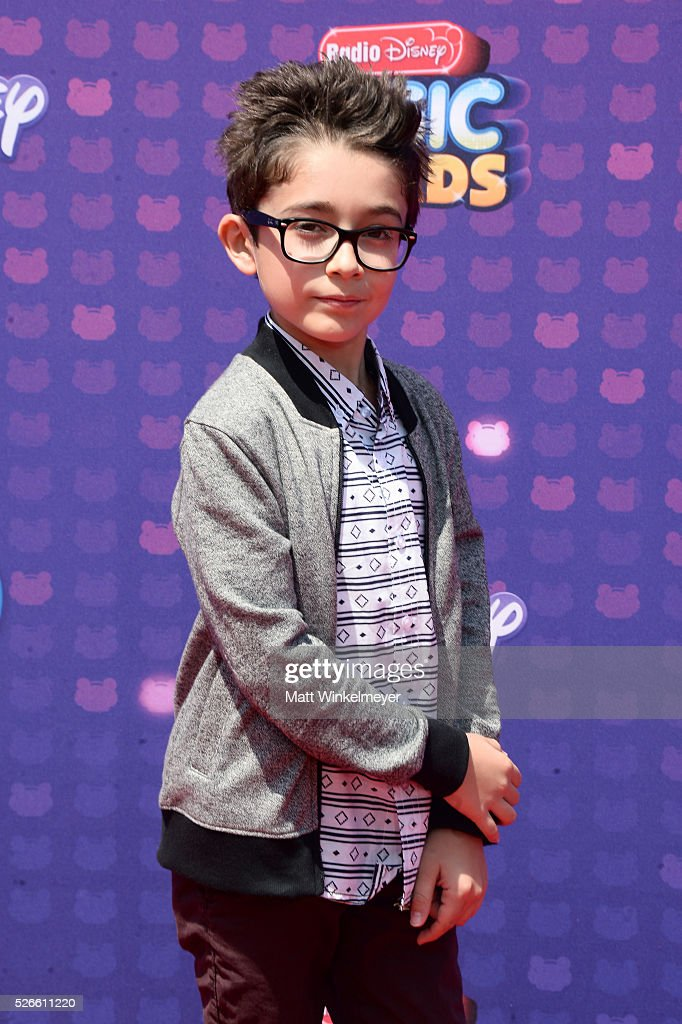 Actor Nicolas Bechtel attends the 2016 Radio Disney Music Awards at Microsoft Theater on April 30, 2016 in Los Angeles, California.