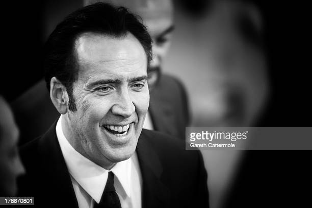 Actor Nicolas Cage attends the 'Joe' Premiere during The 70th Venice International Film Festival at Palazzo Del Cinema on August 30 2013 in Venice...