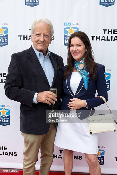 Actor Nicolas Coster and Actress Kira Reed Lorsch attend The Thalians Presidents Club Anchors Away Brunch at the California Yacht Club on June 5 2016...